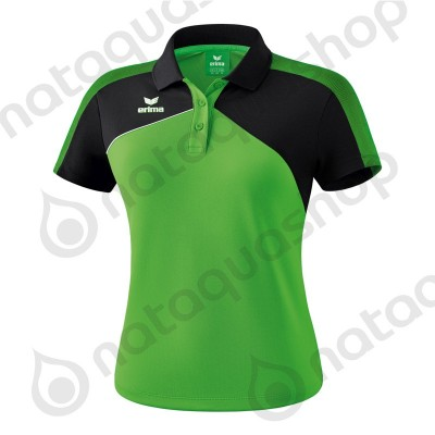 POLO PREMIUM ONE 2.0 - LADIES green/noir/blanc