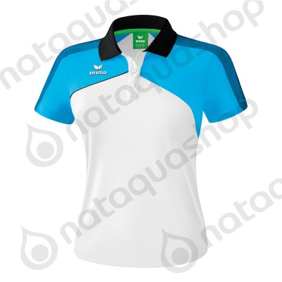 POLO PREMIUM ONE 2.0 - LADIES Blanc/curaçao/noir