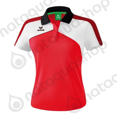 POLO PREMIUM ONE 2.0 - LADIES red/white/black
