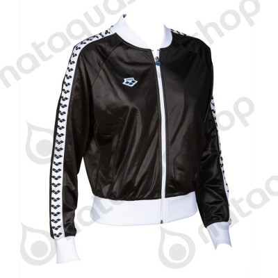 W RELAX IV TEAM JACKET - WOMAN Black/ white