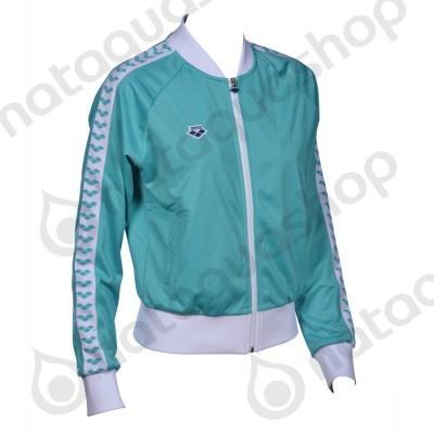 W RELAX IV TEAM JACKET - WOMAN Mint/white