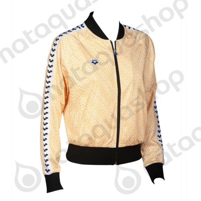 W RELAX IV TEAM JACKET - WOMAN DIAMONDS-WHITE-YELLOW-BLACK