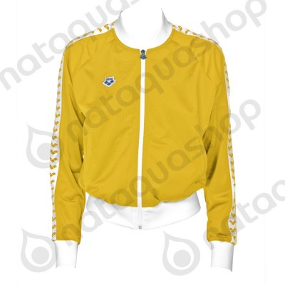 W RELAX IV TEAM JACKET - WOMAN LILY YELLOW-WHITE-LILY YELLOW