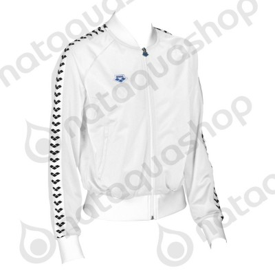 W RELAX IV TEAM JACKET - WOMAN white/black