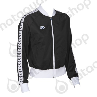 W RELAX IV TEAM JACKET - WOMAN Black