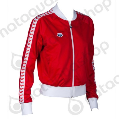 W RELAX IV TEAM JACKET - WOMAN Red