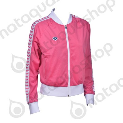 W RELAX IV TEAM JACKET - WOMAN Pink/White