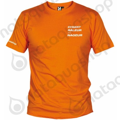 CHIANT RALEUR MAIS NAGEUR - HOMME Orange