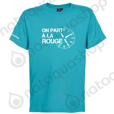 ON PART A LA ROUGE - HOMME turquoise