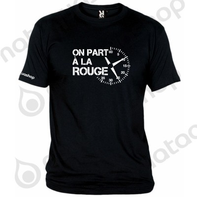 ON PART A LA ROUGE - HOMME Noir