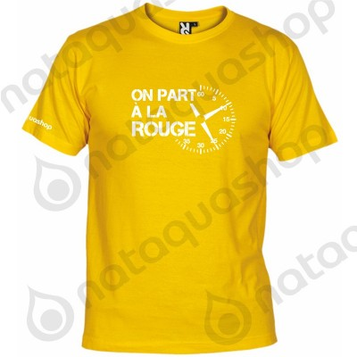 ON PART A LA ROUGE - HOMME Jaune