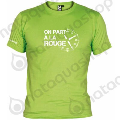 ON PART A LA ROUGE - HOMME Vert