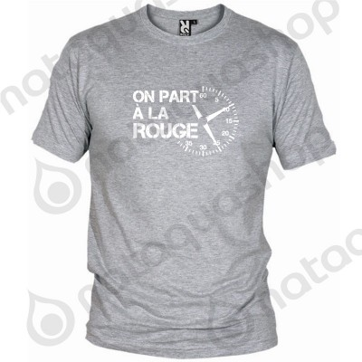 ON PART A LA ROUGE - HOMME Gris