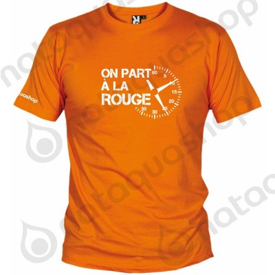 ON PART A LA ROUGE - HOMME Orange