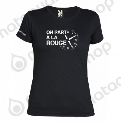 ON PART A LA ROUGE - FEMME Noir