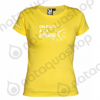 ON PART A LA ROUGE - FEMME Jaune