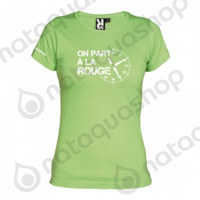 ON PART A LA ROUGE - FEMME Vert