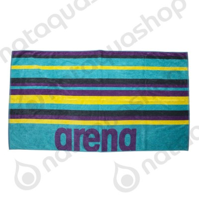 BEACH MULTISTRIPES TOWEL Mint/Multi