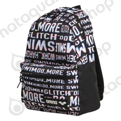 TEAM BACKPACK 30 ALLOVER neon glitch